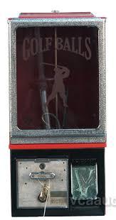 25 Cent Vending Machine Best 48 Cent Victor Vending Machine W Golf Balls Golfer