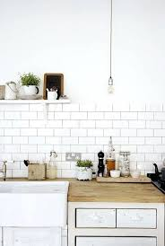 white country kitchen with butcher block.  Country Subway Tile Countertop Modern Open Country Kitchen Farmhouse Sink Butcher  Block White Backsplash With Granite Countertops Intended