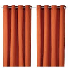 Orange Bedroom Curtains Mariam Curtains 1 Pair Orange Curtain Rods Orange Couch And