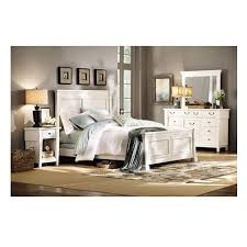 home decorators collection bridgeport antique white king bed frame