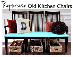 how to repurpose old furniture. Repurpose Old Kitchen Chairs How To Furniture