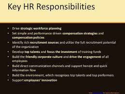It Support Duties And Responsibilities Hr Manager Job Description