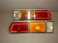 1977 chevy monza 1977 1978 1979 1980 chevy chevrolet monza notchback pair taillights good lenses