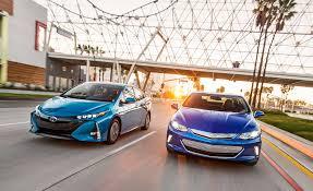 Toyota Prius Comparison Chart 2017 Chevrolet Volt Premier Vs 2017 Toyota Prius Prime Advanced