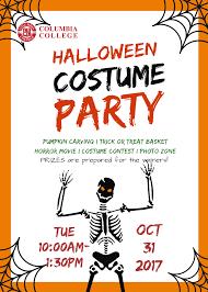 Halloween Costume Party Columbia College
