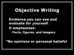 essay subjective essay