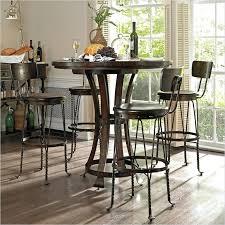 indoor bistro set 5 piece round pub table set indoor bistro table sets