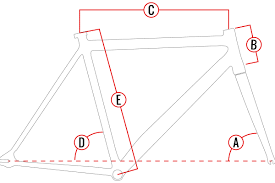 Fixed Gear Bike Frame Size Chart Road Bike Geometry Chart Triathlon Bike Frame Size Chart
