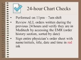 Chart Checks Nursing 24 Hour Chart Check Policy Www Bedowntowndaytona Com