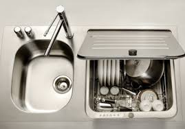 Small Picture Kitchen Idea Top loading dishwasher covered sink MI Tiny House