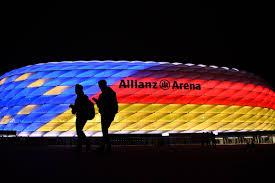 Bayern Munich Stadium Lights Bayern Munich To Apply For 2021 Champions League Final