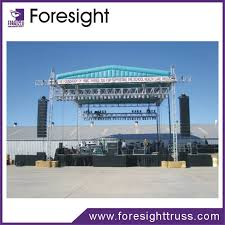 diy portable stage small stage lighting truss. hot selling cheap and good quality mobile stage diy portable small lighting truss