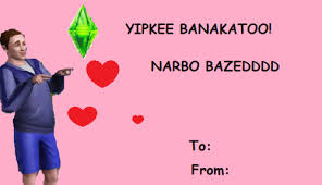 Sims E Card Valentines Day E Cards Know Your Meme