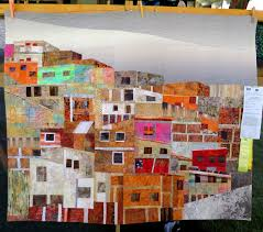 Sisters OR Outdoor Quilt Show » First Light Designs & El Cerro by Hilde Morin of Portland OR (51 x 42) Adamdwight.com