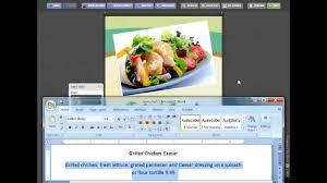 Online Menu Design Software Online Menu Design Templates From The Menu Maker