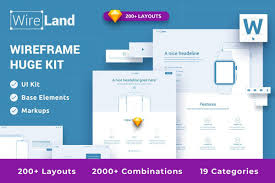 Web Design Structure Wireland For Web Complete Wireframe Library Collection