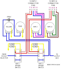 the electra forums • view topic updated mpc wiring diagrams 5 way switch diagram colored and pin numbers added