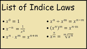 math laws law of indices all index laws math youtube