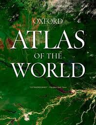 27 best world atlases for map in