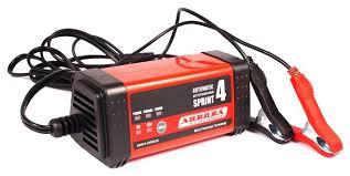 Купить Зарядное <b>устройство Aurora Sprint</b>-4 черный/красный по ...