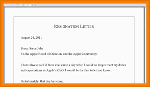 Proforma Of Resignation Letter Choice Image - Letter Format Examples