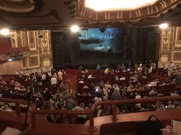 Cadillac Palace Theatre Dress Circle Left Center
