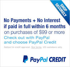 Image result for paypal credit banner