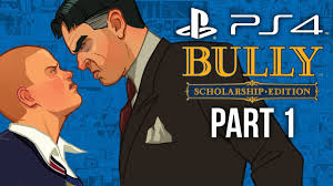 Bully PS4 Gameplay Walkthrough Part 1 - INTRO CHAPTER 1 (Canis Canem Edit)  - YouTube