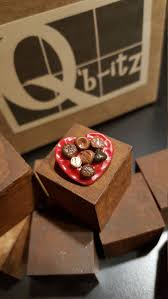 Miniature Tiny Valentines Day Heart Plate of Chocolates Handcrafted Mini  Perfect for Q'b-itz, Fairy Gardens and Dollhouses!! 1:12 Scale