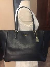 ... usa coach black cross grain leather gold saffiano large city tote 298  3db99 6427b