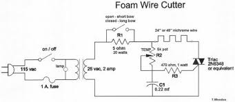 foam cutting power supply the following circuit is