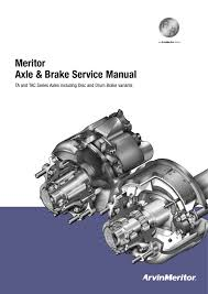 Meritor Axle Brake Service Manual Manualzz Com