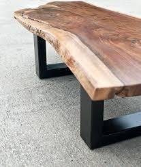tree wood coffee table coffee table wood metal legs table legs metal frame tree stump gumtree