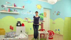 Decorazioni Per Cameretta Dei Bambini : Decorazioni camerette idee dipingere le pareti tutorial