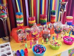 Image result for colorful candy buffet