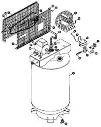 Sears craftsman parts air pressor air