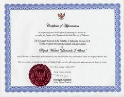 Certificate Of Recognition Wordings Wording For Certificate Of Recognition Sample Format Examples