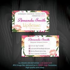 Interior Lipsense Business Cards Lipsense Business Cards