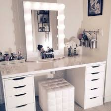 makeup room and white image