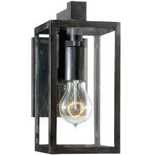 clear glass sconce visual comfort framed short 1 light outdoor wall sconce with clear glass shade clear glass sconce wall