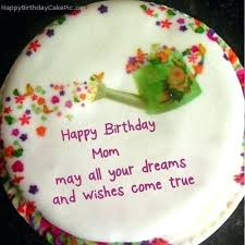 Birthday Cake For Mom Ideas Happy Birthday Mom Cake Images