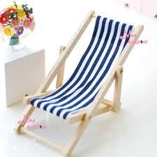 dollhouse outdoor furniture. Dollhouse Foldable Miniature Beach Chair Fairy Garden Furniture Deck 1:12 Scale Miniatures Decors Lovely Outdoor I