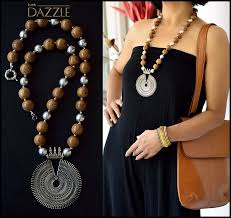 prayer bead pearl shell necklace with silver pendant