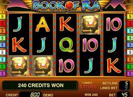 Бесплатный игровой автомат «Book of Ra»