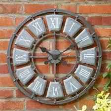 smart garden lincoln outdoor wall clock