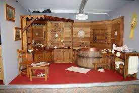 Bagni Esterni In Legno : Arredamento in legno per bagni