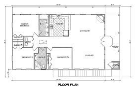 pretty ideas 1500 square foot cabin plans 2 one story house with open concept