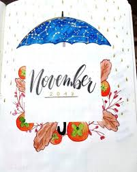 Fall Themed Bullet Journal Cover Pages Sheena Of The Journal