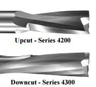 Vortex Tool Series 4200 4300 Two Flute Low Helix Finishers