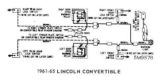 ford diagrams 1961 65 lincoln convertible